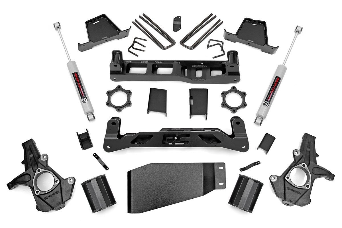 (SKU:264.23) 7.5IN GM SUSPENSION LIFT KIT (07-13 1500 PU 4WD)