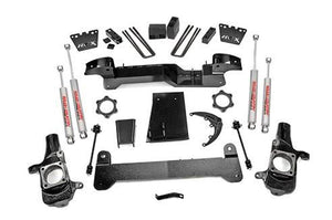 (SKU: 259N2) 6IN GM SUSPENSION LIFT KIT (01-06 1500HD 4WD)