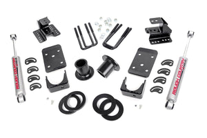 (SKU: 728.20) 1-2IN / 4IN GM LOWERING KIT (07-13 1500 PU 2WD)
