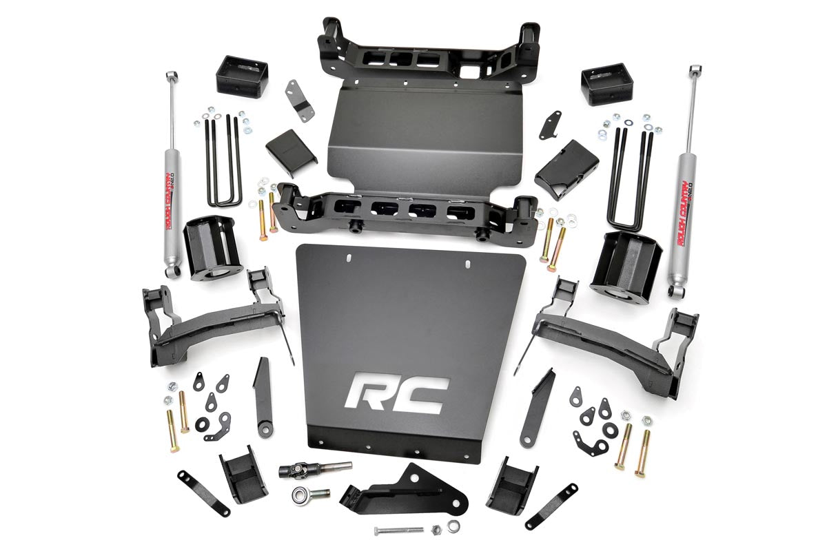 (SKU: 214-88-92.20) 6IN GM SUSPENSION LIFT SYSTEM (56IN REAR SPRINGS)
