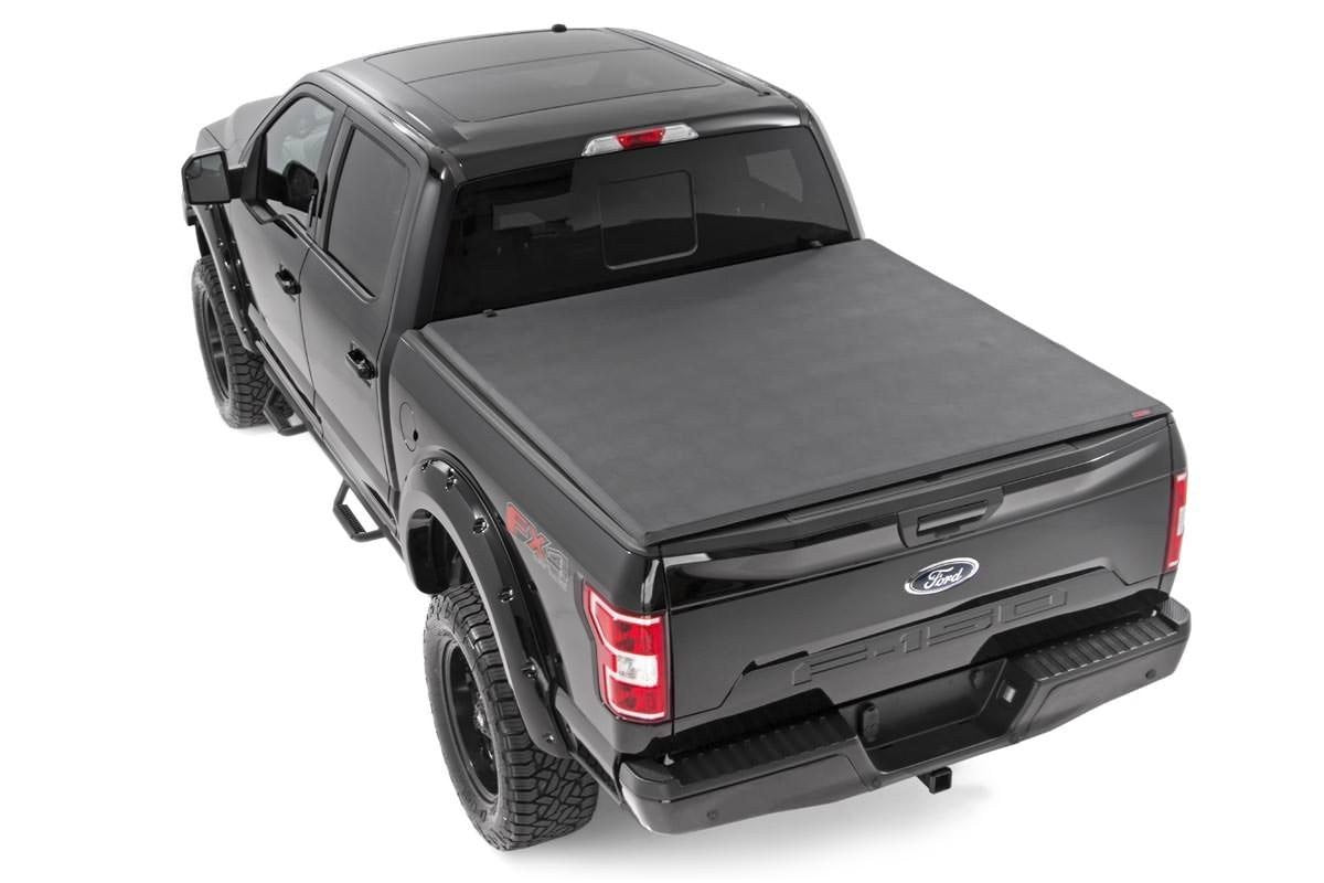 (SKU: 44515650) FORD SOFT TRI-FOLD BED COVER (15-18 F-150)