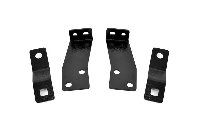 (SKU: 1124) JEEP REAR BUMPER BRACKETS (07-18 JK WRANGLER)