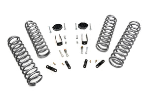 (SKU:624) 2.5IN JEEP SUSPENSION LIFT KIT (07-18 JK WRANGLER)