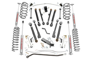(SKU: 66220)6IN JEEP X-SERIES SUSPENSION LIFT KIT (97-06 WRANGLER TJ)