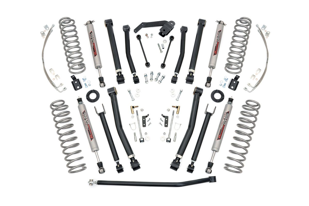 (SKU: 67422) 4IN JEEP X-SERIES SUSPENSION LIFT KIT (07-18 WRANGLER JK UNLIMITED)