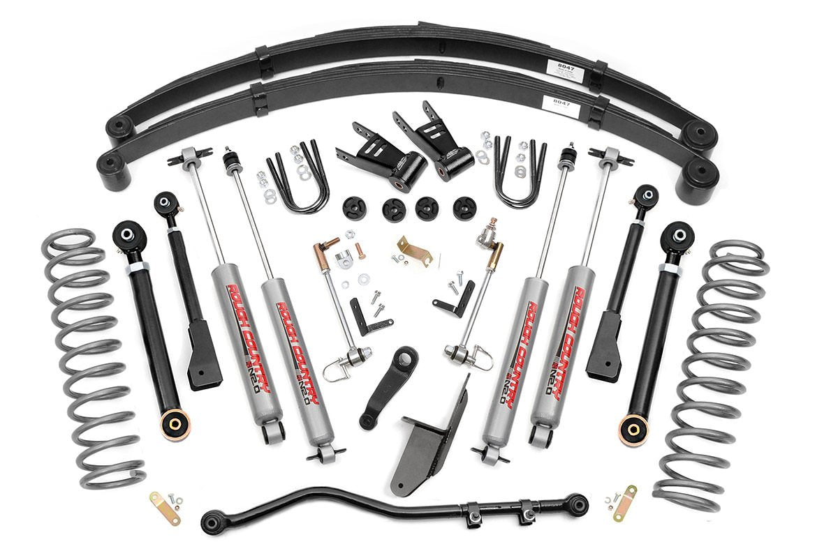 (SKU: 69620) 6.5IN JEEP X-SERIES SUSPENSION LIFT SYSTEM (84-01 CHEROKEE XJ)
