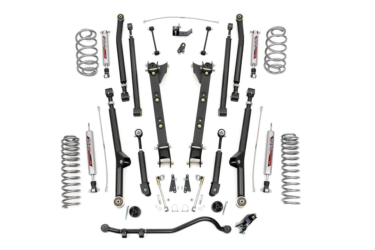 (SKU:62922) 2.5IN JEEP LONG ARM SUSPENSION LIFT KIT