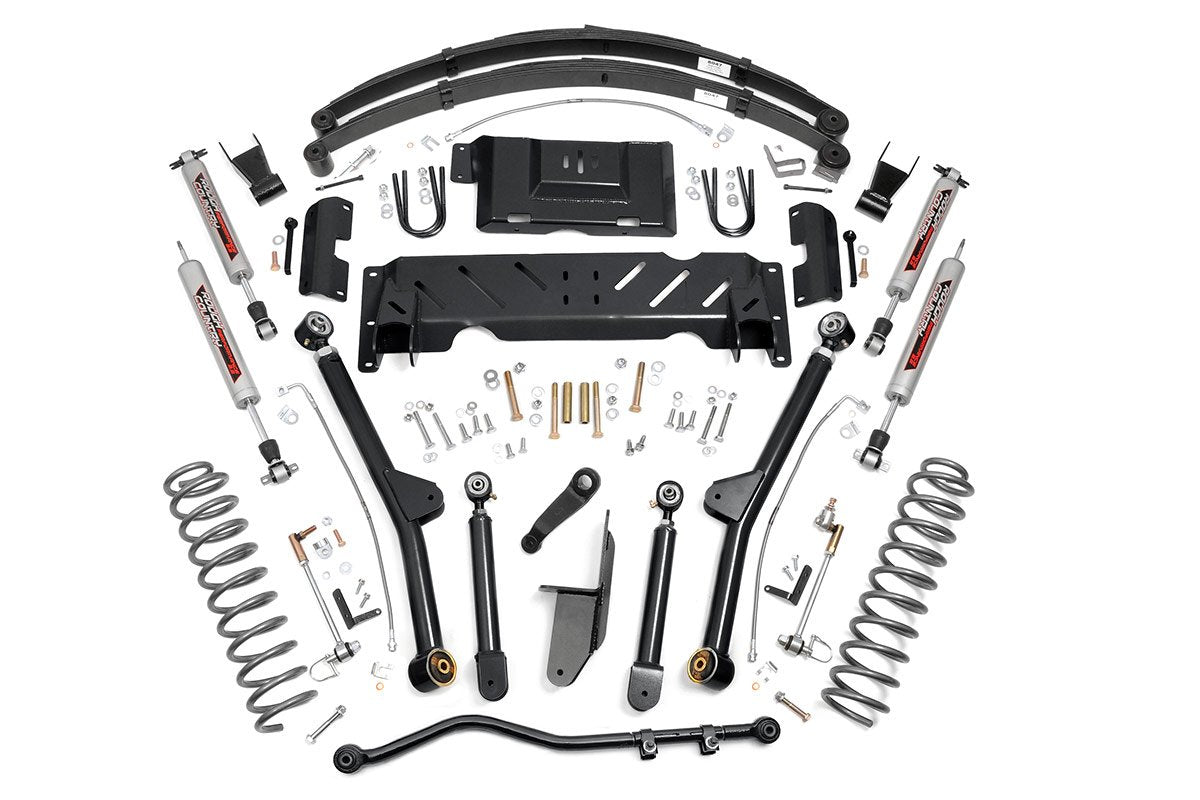 (SKU: 67222) 6.5IN JEEP LONG ARM SUSPENSION LIFT SYSTEM (84-01 XJ CHEROKEE)