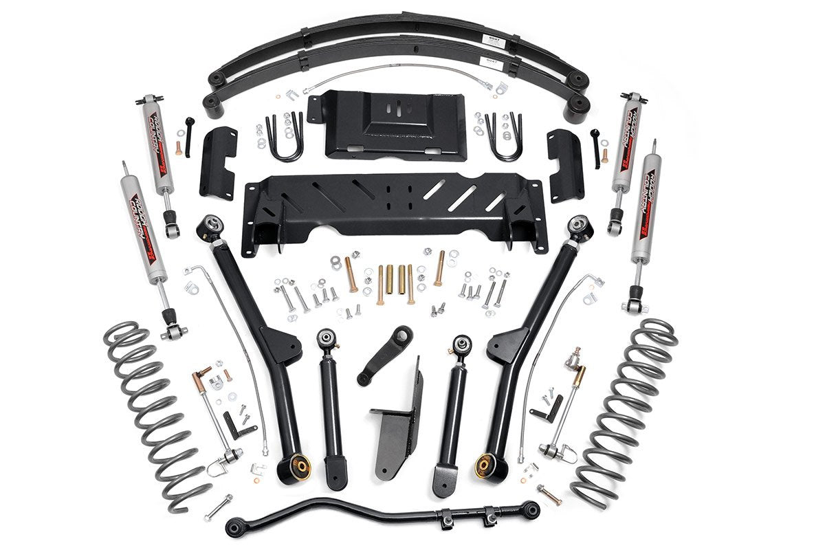 (SKU: 68622) 4.5IN JEEP LONG ARM SUSPENSION LIFT KIT (84-01 XJ CHEROKEE)