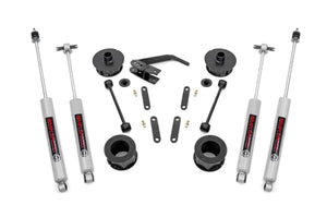 (SKU: 65730)2.5IN JEEP SERIES II SUSPENSION LIFT KIT (07-18 JK WRANGLER)