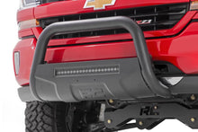 (SKU: B-T4051) TOYOTA 05-15 TACOMA BULL BAR W/LED LIGHT BAR (BLACK)