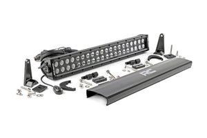 (SKU: 70920BL) 20-INCH CREE LED LIGHT BAR - (DUAL ROW | BLACK SERIES)