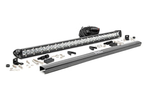 (SKU: 70730) 30-INCH CREE LED LIGHT BAR - (SINGLE ROW | CHROME SERIES)
