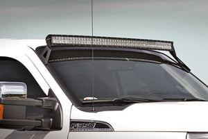 (SKU: 70515) FORD 50-INCH CURVED LED LIGHT BAR UPPER WINDSHIELD MOUNTS (99-16 SUPER DUTY)