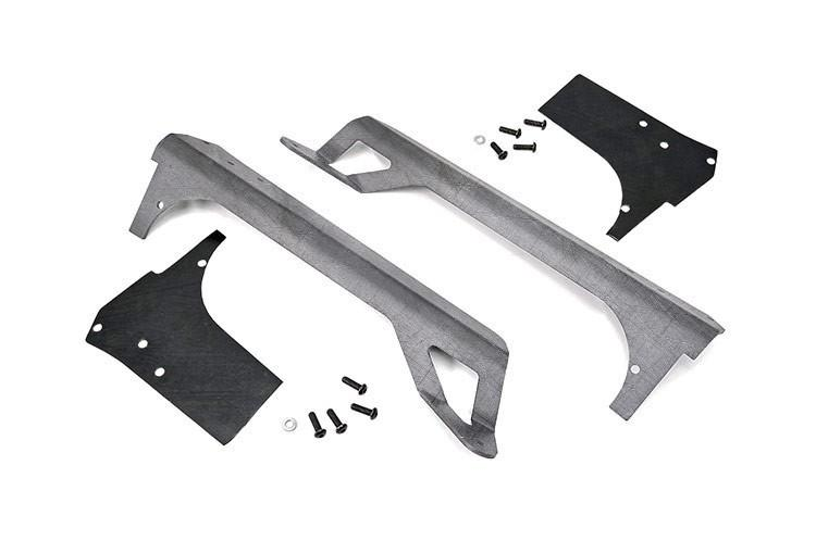 (SKU:70502) JEEP 50-INCH STRAIGHT LED LIGHT BAR UPPER WINDSHIELD MOUNTS (97-06 TJ)
