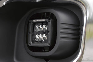 (SKU: 70622) FORD 2-INCH CREE LED FOG LIGHT KIT (BLACK SERIES | 11-16 F-250/350)