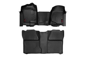 (SKU: M-20712 ) Heavy Duty Floor Mats - Front & Rear Combo (Extended Cab Models)