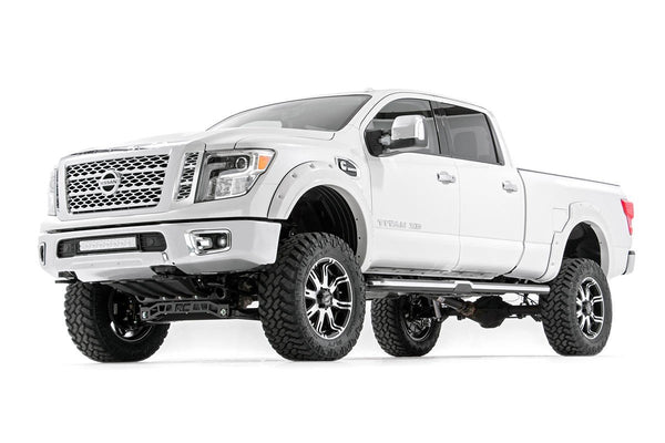 (SKU:87730) 6IN NISSAN SUSPENSION LIFT KIT (16-18 TITAN XD 4WD)