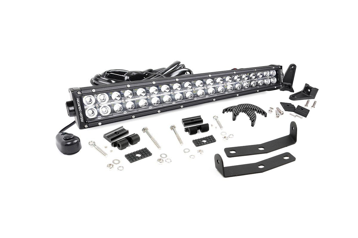 (SKU:70646) NISSAN 20IN LED BUMPER KIT (16-18 TITAN XD)
