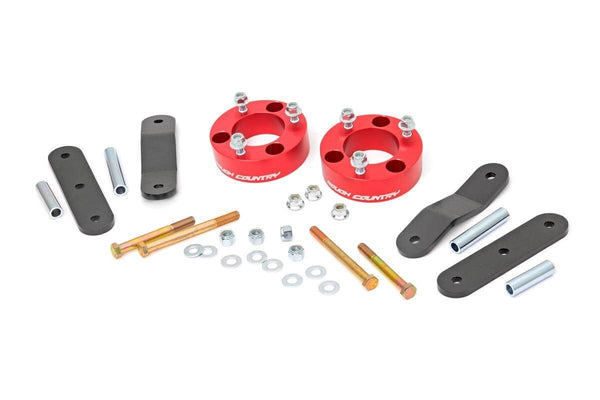 (SKU:867RED) 2.5IN NISSAN SUSPENSION LIFT KIT (FRONTIER/XTERRA)