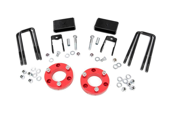(SKU:868RED ) 2IN NISSAN LEVELING LIFT KIT (16-18 TITAN XD)