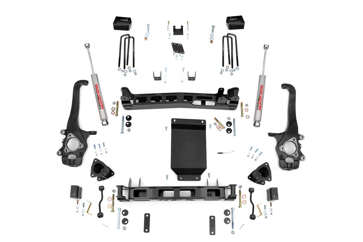 (SKU: 874.20) 4IN SUSPENSION LIFT KIT (04-15 NISSAN TITAN)