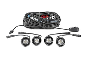 (SKU: 709RL-4) LED ROCK LIGHT KIT