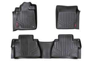 (SKU: M-71413) HEAVY DUTY FLOOR MATS [FRONT/REAR] - (14-18 TOYOTA TUNDRA)
