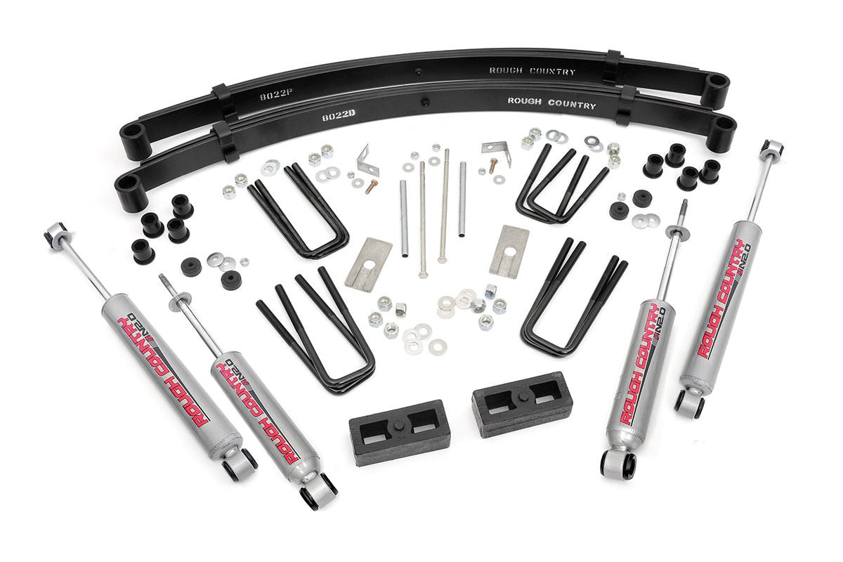 (SKU: 705.20) 3IN TOYOTA SUSPENSION LIFT KIT