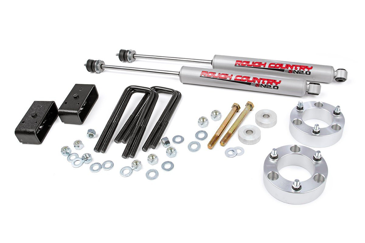 (SKU:745N2) 3IN TOYOTA SUSPENSION LIFT KIT (05-18 TACOMA)