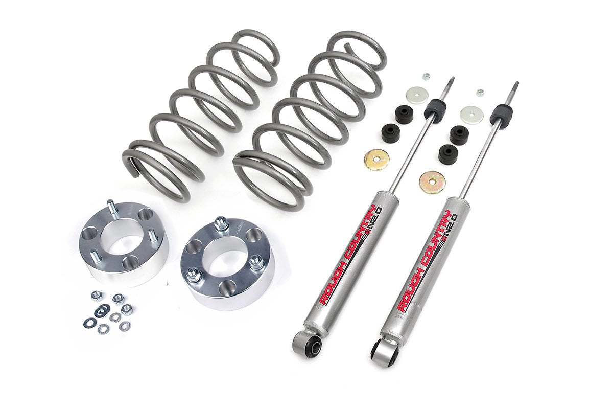 (SKU: 760.20A) 3IN TOYOTA SUSPENSION LIFT KIT (03-09 4-RUNNER 4WD)