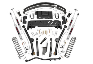 (SKU: 60722) 6.5IN JEEP LONG ARM SUSPENSION LIFT SYSTEM (84-01 XJ CHEROKEE)