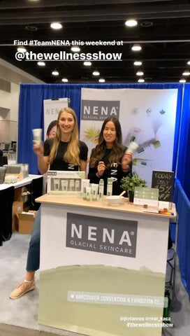NENA at The Wellness Show 2020