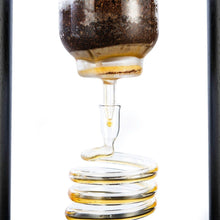 Load image into Gallery viewer, 6-8 Cup Cold Drip Maker Straight Black Wood Frame (32oz)
