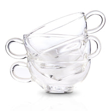 Load image into Gallery viewer, Set of 4 Cups and Saucers (8oz)