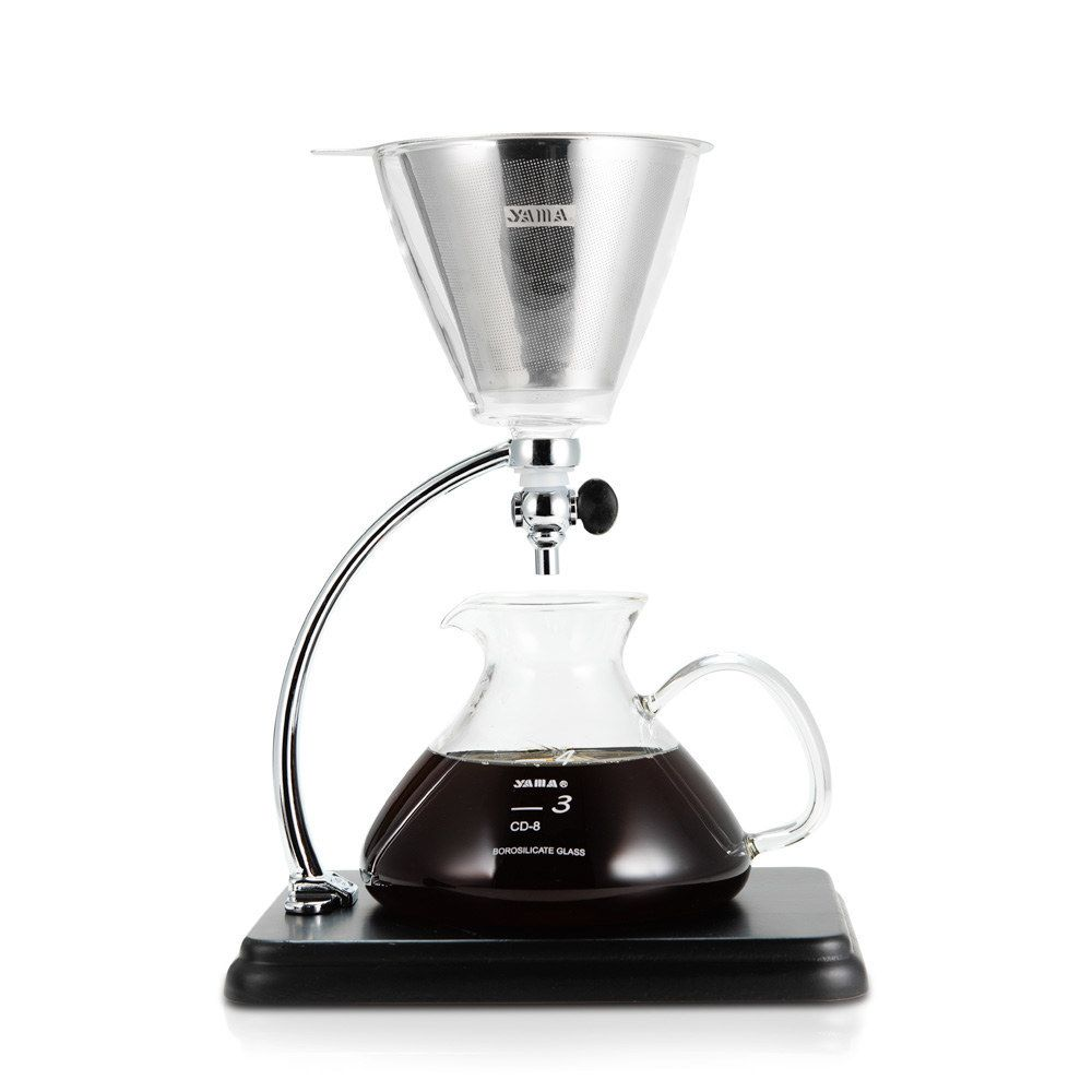 Silverton Coffee/Tea Dripper with Stainless Cone Filter 16oz