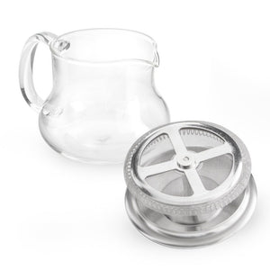 "Yama Glass ""Sitka"" Teapot (24oz)"