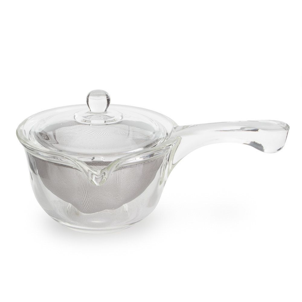 Yama Glass Side Pour Tea Pot (10 oz)