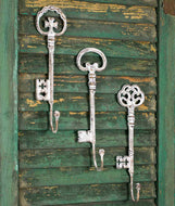Set of 3 Oversized Key Hooks