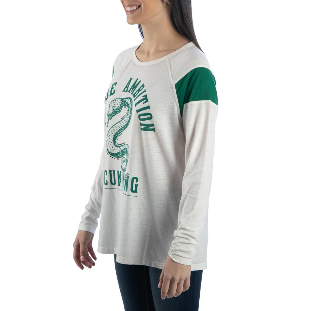 Bioworld Harry Potter Slytherin Characteristic Long Sleeve T-Shirt