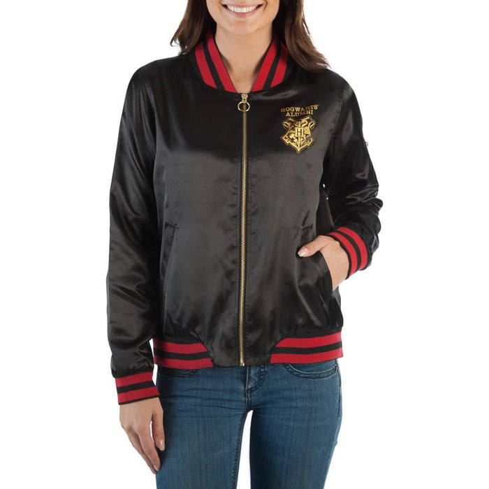 Bioworld Harry Potter Hogwarts Alumni Bomber Jacket