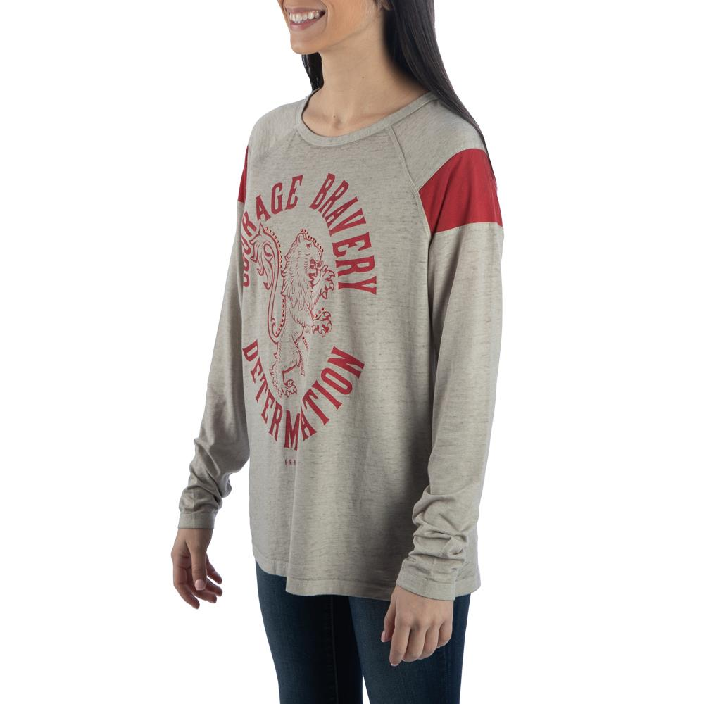 Bioworld Harry Potter Gryffindor Characteristic Long Sleeve T-Shirt
