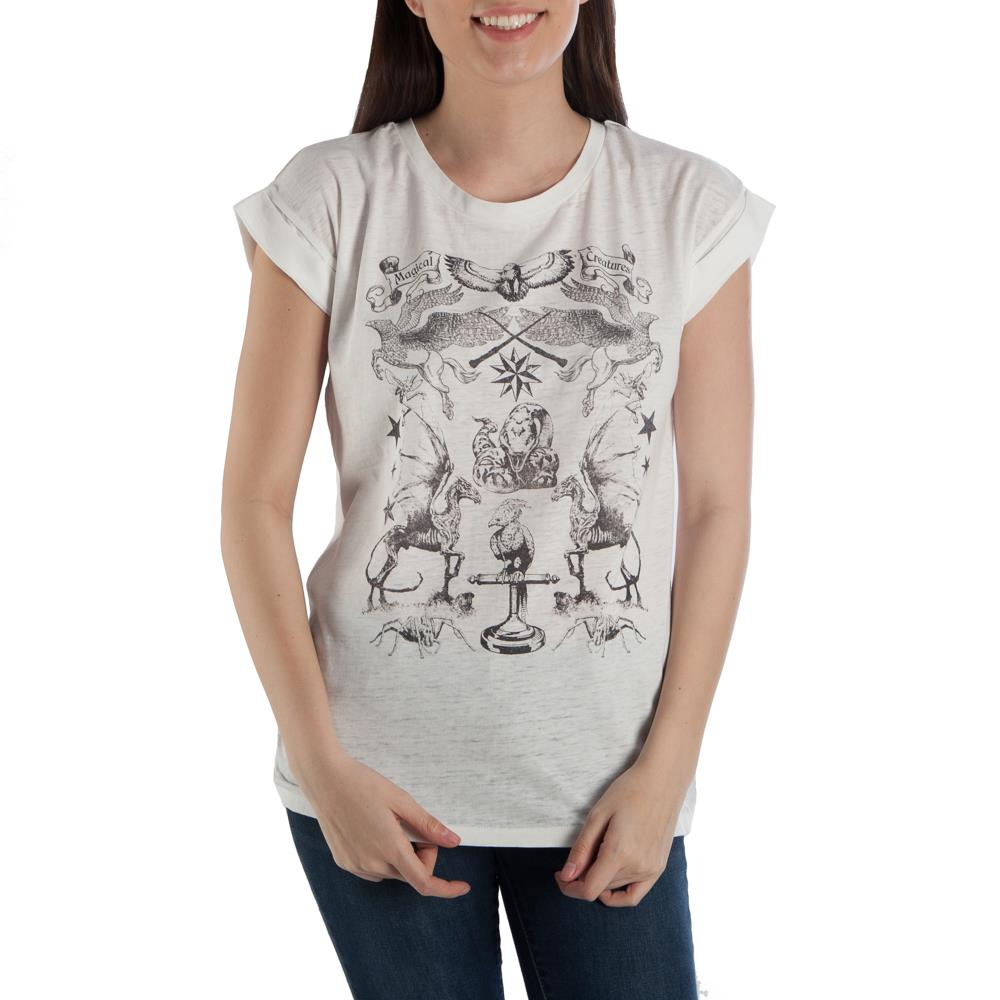 Bioworld Harry Potter Magical Creatures T-Shirt
