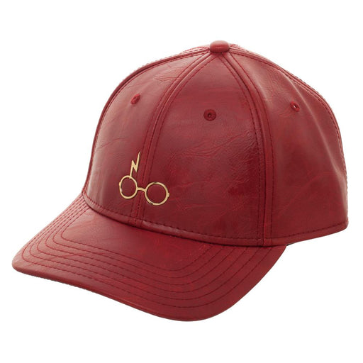 Harry Potter Metal PU Leather Cap