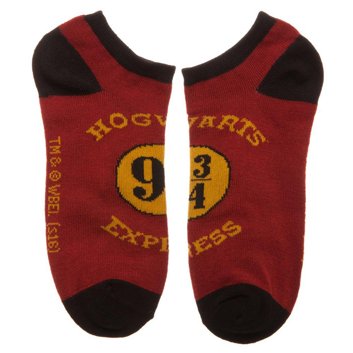 Harry Potter Hogwarts 3pk Ankle Sock Set
