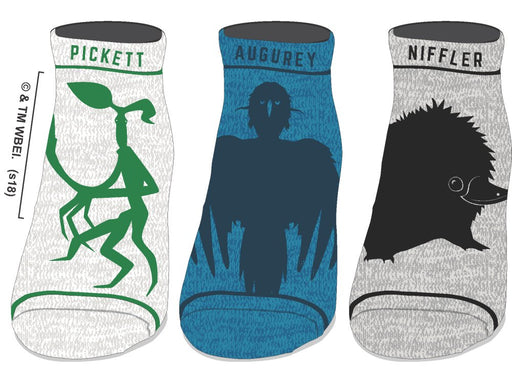 Fantastic Beasts and Where to Find Them juniors 3pk Ankle Socks