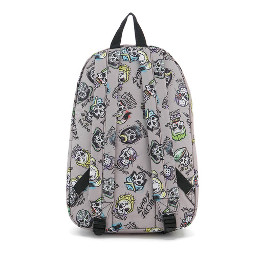 Suicide Squad All Over Print Skulls Backpack