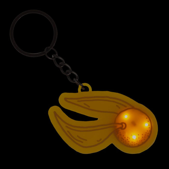 Harry Potter Golden Snitch LED Keychain
