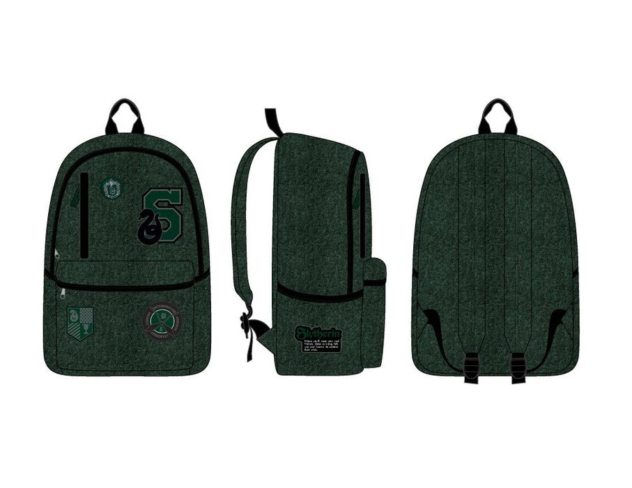 Harry Potter Slytherin Omni Badge Backpack