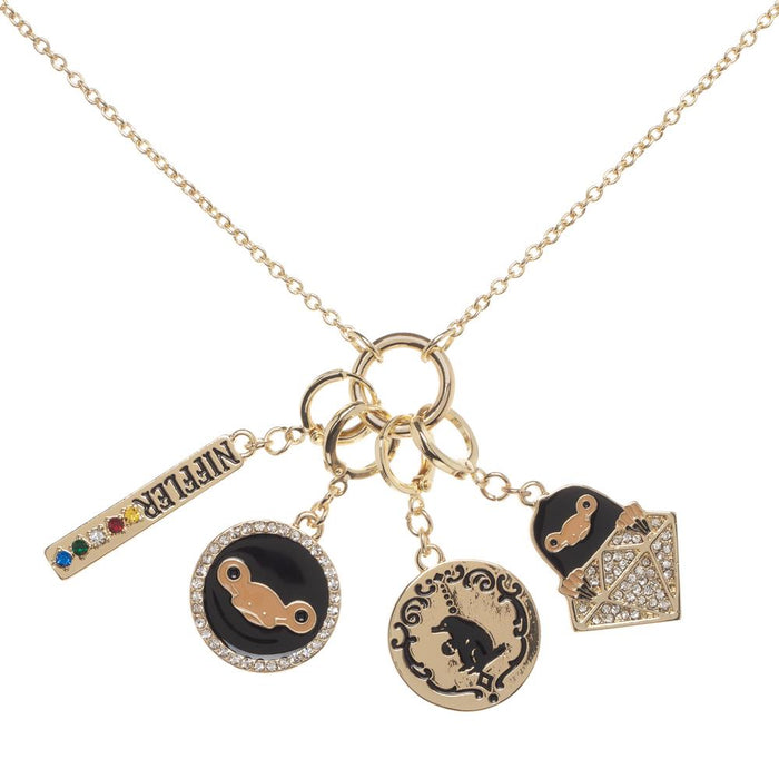 Fantastic Beasts and Where to Find Them Multicharm Necklace